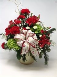 Youngs Own Christmas Joy Bouquet from Young Floral Co in Charleston, WV
