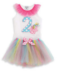 Mud Pie 2nd Birthday Tutu Set 2T from Young Floral Co in Charleston, WV