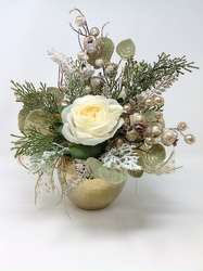 Youngs Own Christmas Glitz Silk Arrangment  from Young Floral Co in Charleston, WV