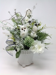 Youngs Own Silk Wild Winter Bouquet from Young Floral Co in Charleston, WV