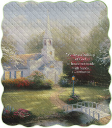 The Hometown Chapel Quilt  from Young Floral Co in Charleston, WV