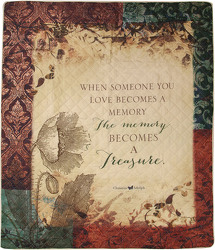 Memory Becomes a Treasure Quilt from Young Floral Co in Charleston, WV