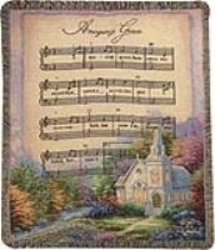 Amazing Grace - Church in the Country Hymn Tapestry from Young Floral Co in Charleston, WV