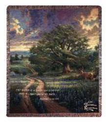 Country Living Tapestry Throw by Thomas Kinkade  from Young Floral Co in Charleston, WV