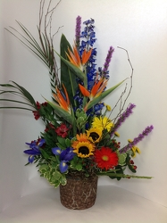Young's Safari Sunset Bouquet  from Young Floral Co in Charleston, WV