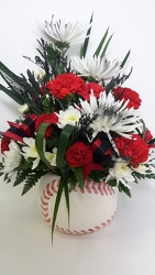 Youngs Own Baseball Bouquet from Young Floral Co in Charleston, WV