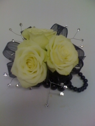 Young's Own Black Pearl Corsage  from Young Floral Co in Charleston, WV
