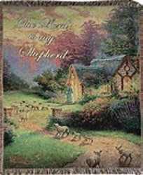 The Good Shepherd's Cottage Throw  from Young Floral Co in Charleston, WV