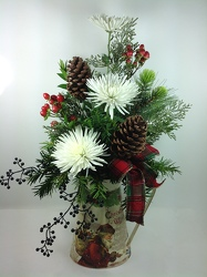 Classic Christmas Pitcher from Young Floral Co in Charleston, WV