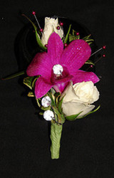 Youngs Own Diamond Orchid Boutineer  from Young Floral Co in Charleston, WV