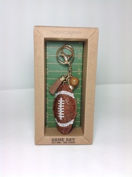 Game Day Key Ring / Bag Charm from Young Floral Co in Charleston, WV