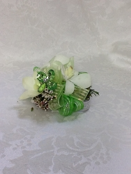 Young's Own Green Glam Corsage  from Young Floral Co in Charleston, WV
