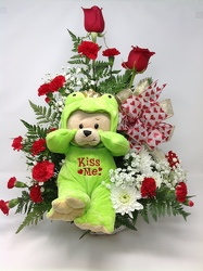 Young's Own Kiss Me Bear  from Young Floral Co in Charleston, WV