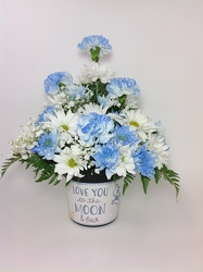 Love you to the Moon and Back- Boy  from Young Floral Co in Charleston, WV