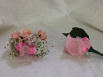 Youngs Own Pretty in Pink Corsage  from Young Floral Co in Charleston, WV