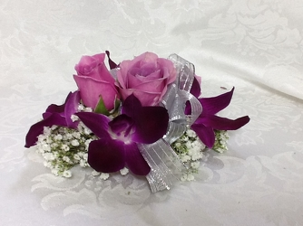 Purple Orchid Corsage  from Young Floral Co in Charleston, WV