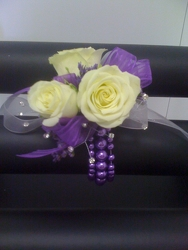 Purple Majestic Corsage from Young Floral Co in Charleston, WV