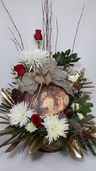 Youngs Reason for the Season Bouquet from Young Floral Co in Charleston, WV