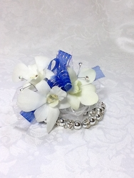 Young's Own Royal Blue Orchid Corsage from Young Floral Co in Charleston, WV