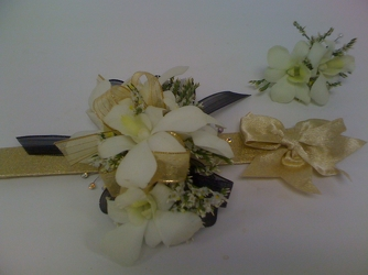 Golden Glow Corsage & Boutonniere Set   from Young Floral Co in Charleston, WV
