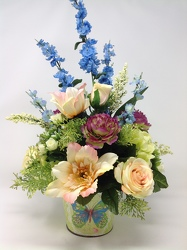 Youngs Own Wings of Spring Silk arrangement  from Young Floral Co in Charleston, WV