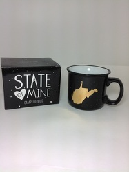 State of Mine Campfire Mug  from Young Floral Co in Charleston, WV