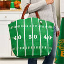 Twos Company Green Touchdown Tote from Young Floral Co in Charleston, WV