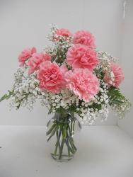 Young's Own Lovely Pink Carnations  from Young Floral Co in Charleston, WV