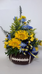 Youngs Own #1 Fan Football Bouquet from Young Floral Co in Charleston, WV