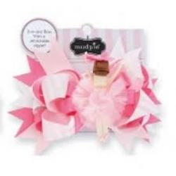 Mud Pie Brunette Ballet Dancer Hair Bow from Young Floral Co in Charleston, WV