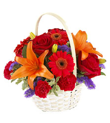 Fun in the Sun Basket from Young Floral Co in Charleston, WV