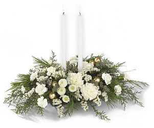 Wintergarden Candle Centerpiece from Young Floral Co in Charleston, WV