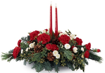 Joy of the Season Centerpiece from Young Floral Co in Charleston, WV