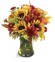 Glorious Fall Bouquet from Young Floral Co in Charleston, WV