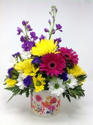 Youngs Own Spring Pot of Cheer  from Young Floral Co in Charleston, WV