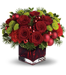 Teleflora's Merry & Bright from Young Floral Co in Charleston, WV