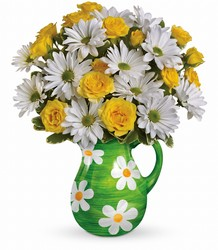 Teleflora's Happy Daisies Bouquet from Young Floral Co in Charleston, WV