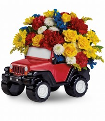 Jeep Wrangler King of the Road by Teleflora from Young Floral Co in Charleston, WV