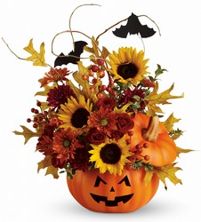 Teleflora's Trick Treat Bouquet from Young Floral Co in Charleston, WV