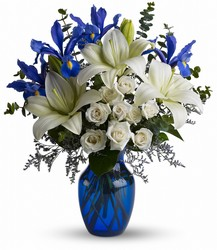 Blue Horizons Bouquet from Young Floral Co in Charleston, WV