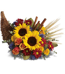 Classic Cornucopia from Young Floral Co in Charleston, WV