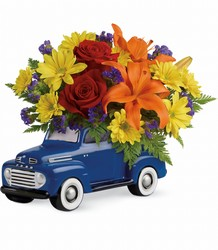 Vintage Ford Pickup Bouquet by Teleflora from Young Floral Co in Charleston, WV