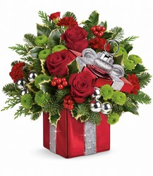 Teleflora's Gift Wrapped Bouquet from Young Floral Co in Charleston, WV