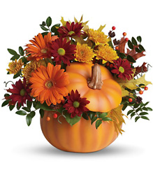 Teleflora's Country Pumpkin from Young Floral Co in Charleston, WV