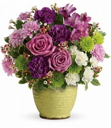 Teleflora's Spring Speckle Bouquet from Young Floral Co in Charleston, WV