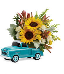 Chevy Pickup Bouquet from Young Floral Co in Charleston, WV