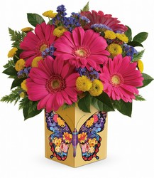 Teleflora's Wings Of Thanks Bouquet from Young Floral Co in Charleston, WV