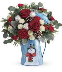 Teleflora's Frosty Enchantment Bouquet from Young Floral Co in Charleston, WV