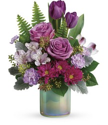 Teleflora's Art Glass Garden Bouquet from Young Floral Co in Charleston, WV
