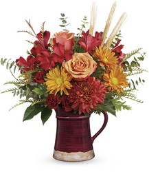 Teleflora's Fields Of Fall Bouquet from Young Floral Co in Charleston, WV